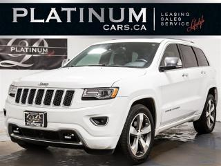 Used 2015 Jeep Grand Cherokee OVERLAND, NAVI, PANO, Active CRUISE, Blindspot for sale in Toronto, ON