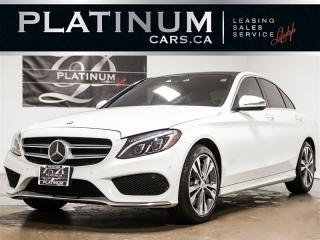 Used 2016 Mercedes-Benz C 300 4MATIC, NAVI, PANO, INTELLIGENT SAFETY, DTR for sale in Toronto, ON