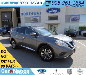 Used 2017 Nissan Murano SV | AWD | NAV | HTD SEATS+WHEEL | PANOROOF | for sale in Brantford, ON