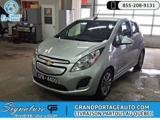 Used 2016 Chevrolet Spark EV LT** ÉLECTRIQUE ** CR RABAIS GOUV $4000. for sale in Rivière-Du-Loup, QC