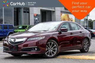 Used 2016 Acura TLX V6 Tech|Sunroof|Backup.Cam|GPS|Bluetooth|SiriusXM|Blindspot|Keyless.Go| for sale in Thornhill, ON