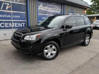 Used 2017 Subaru Forester I + Pzev + Caméra for sale in Boisbriand, QC
