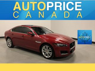 Used 2017 Jaguar XF 20d Prestige NAVIGATION|PANOROOF|LEATHER for sale in Mississauga, ON