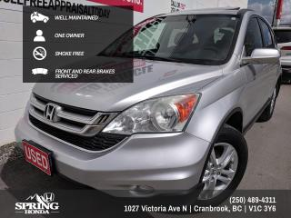Used 2010 Honda CR-V EX-L NEW TIRES, WELL MAINTAINED, SMOKE-FREE, PET-FREE, ONE OWNER$171 BI-WEEKLY - $0 DOWN for sale in Cranbrook, BC