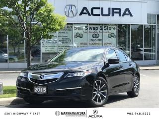 Used 2015 Acura TLX 3.5L SH-AWD w/Tech Pkg V6 290HP, Navi, Blind Spot Ind for sale in Markham, ON