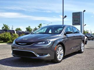Used 2015 Chrysler 200 LIMITED *CAMÉRA* for sale in Brossard, QC