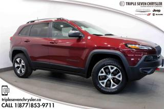 Used 2018 Jeep Cherokee 4x4 Trailhawk L PLUS - SUNROOF LEATHER for sale in Regina, SK