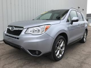 Used 2016 Subaru Forester 2.5i Limited Package 2.5i LIMITED W/ EYESIGHT TECH | LOW KMs | NAVI | LEATHER | LOCAL TRADE for sale in Charlottetown, PE