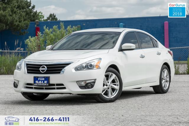 2014 Nissan Altima SL 2.5 TECH NAV GPS LEATHER/ROOF CERTIFIED FINANCE