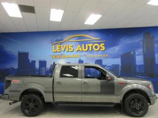 Used 2012 Ford F-150 FX4 CREW-CAB GPS NAVIGATION CUIR TOIT OU for sale in Lévis, QC