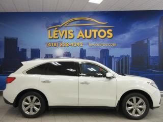 Used 2015 Acura MDX ÉLITE PACKAGE SH-AWD GPS NAVIGATION TV/D for sale in Lévis, QC