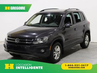 Used 2016 Volkswagen Tiguan TRENDLINE MAN A/C GR for sale in St-Léonard, QC