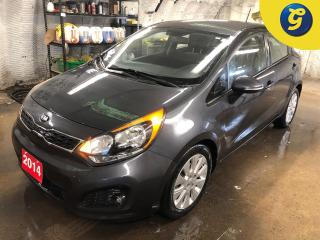 Used 2014 Kia Rio5 EX * UVO by Microsoft * Phone connect * Voice recognition * Active economy mode * Reverse camera * Heated front seats * 16 Inch Alloy * Hands free ste for sale in Cambridge, ON