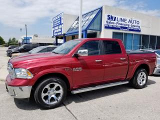 Used 2014 RAM 1500 Laramie 1 OWNER|ECO DIESEL|NAVIGATION|SUNROOF|HEATED STEERING|CERTIFIED|ALLOYS| for sale in Concord, ON