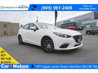 Used 2015 Mazda MAZDA3 GX | CD PLAYER | BLUETOOTH | AUX & USB INPUT for sale in Hamilton, ON