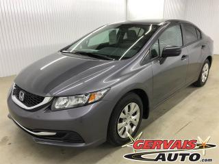 Used 2015 Honda Civic DX for sale in Trois-Rivières, QC