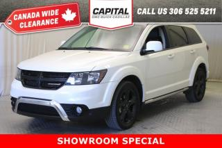Used 2018 Dodge Journey Crossroad AWD*LEATHER*SUNROOF* for sale in Regina, SK