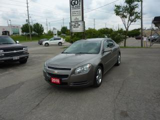 Used 2010 Chevrolet Malibu LT, LOW MILEAGE for sale in Kitchener, ON