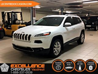 Used 2015 Jeep Cherokee Limited 4x4 *cuir/banc chauffant/hitch* for sale in Vaudreuil-Dorion, QC