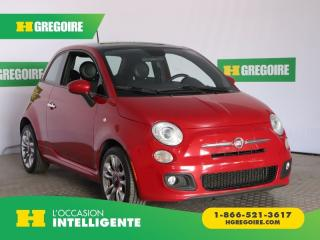 Used 2015 Fiat 500 SPORT CUIR TOIT for sale in St-Léonard, QC