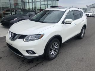 Used 2015 Nissan Rogue SL,CUIR, GPS, CAM360, TOIT PANO for sale in Lévis, QC