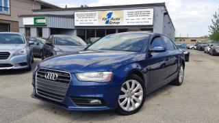 Used 2013 Audi A4 2.0T Quattro for sale in Etobicoke, ON