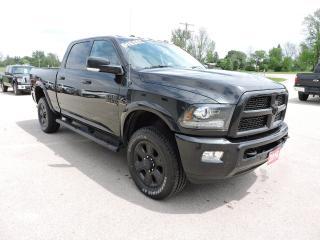 Used 2016 RAM 2500 Laramie. Diesel. 4X4. New tires. Loaded for sale in Gorrie, ON