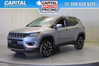 Used 2018 Jeep Compass Limited- PANORAMIC SUNROOF*LEATHER*SUNROOF*NAV* for sale in Regina, SK