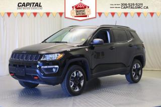 Used 2018 Jeep Compass Trailhawk- PANORAMIC SUNROOF*LEATHER*SUNROOF*NAV* for sale in Regina, SK