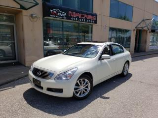 Used 2008 Infiniti G35X SPORT **NAVI**ALL WHEEL DRIVE** NO ACCIDENT** for sale in North York, ON