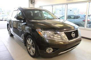 Used 2015 Nissan Pathfinder PLATINUM AWD TOIT GPS CAMÉRAS DVD for sale in Lévis, QC
