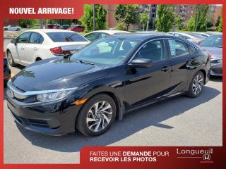 Used 2016 Honda Civic EX ** Honda plus inclus ** for sale in Longueuil, QC