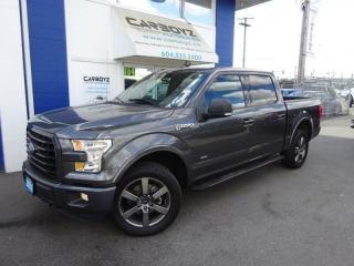 Used 2016 Ford F-150 Sport 4x4 Crew, Nav, Moonroof, Leather, Blind Spot for sale in Langley, BC