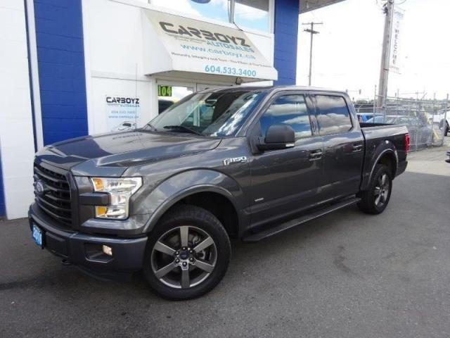 2016 Ford F-150 Sport 4x4 Crew, Nav, Moonroof, Leather, Blind Spot