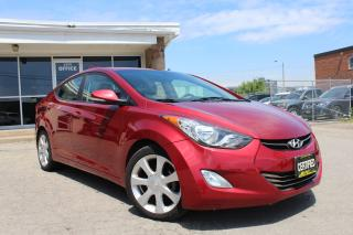 Used 2013 Hyundai Elantra Limited Leather|Bluetooth|Sunroof for sale in Mississauga, ON