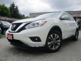 Used 2016 Nissan Murano AWD-SL-NAVI-LTHER-CAMERA-PANO-ROOF-BLUETOOTH-HEATE for sale in Scarborough, ON