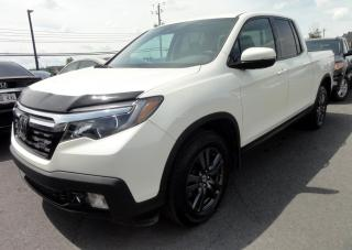 Used 2017 Honda Ridgeline AWD Sport Toit Mags Camera for sale in St-Jean-Sur-Richelieu, QC
