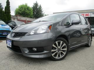Used 2014 Honda Fit Sport-HB Auto-BLUETOOTH-ALLOYS-ONE OWNER-A/C for sale in Scarborough, ON