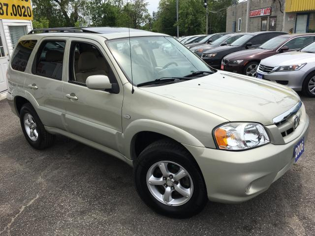 2006 Mazda Tribute GS/ AUTO/ 4WD/ SUNROOF/ PWR GROUP/ ALLOYS/ LOADED