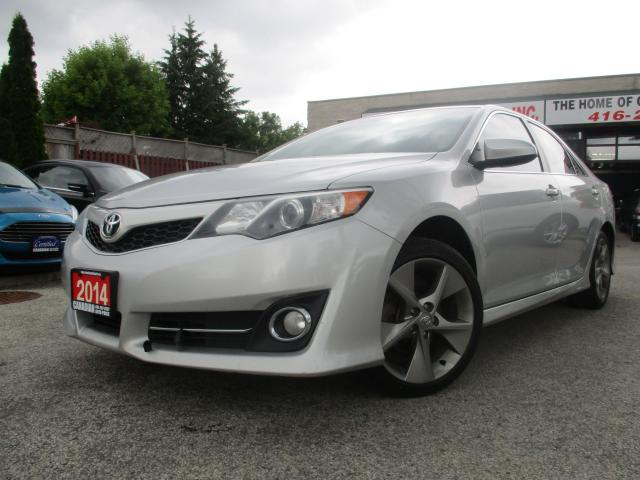 2014 Toyota Camry SE-NAVIGATION-LEATHER-SUN-ROOF-CAMERA-HEATED-ALLOY