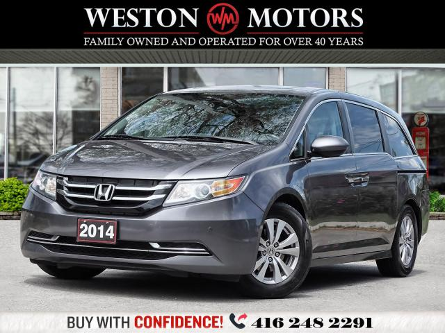 2014 Honda Odyssey EX-L*REVERSE CAM!*LEATHER*SUNROOF*HEATED SEATS*