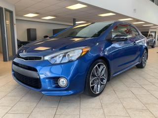 Used 2014 Kia Forte Koup SX Luxury GPS Toit Cuir for sale in Pointe-Aux-Trembles, QC