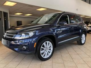 Used 2016 Volkswagen Tiguan Highline 4motion GPS Cuir Toit Pano for sale in Pointe-Aux-Trembles, QC