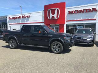Used 2014 Ford F-150 FX4 Loaded! Tonneau Cover! Excellent History for sale in Campbell River, BC