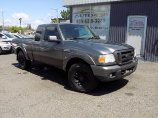 Used 2007 Ford Ranger ***4X4,SUPERCAB,BOITE 6 PIEDS,AUTOMATIQU for sale in Longueuil, QC