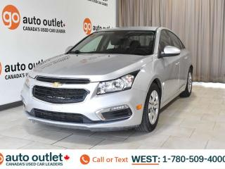 Used 2015 Chevrolet Cruze 1LT, Fwd, 1.4L I4, Cloth seats, Backup camera, Bluetooth for sale in Edmonton, AB