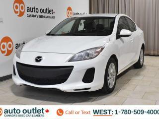 Used 2013 Mazda MAZDA3 One owner!!! GX, fwd, cloth seats, satellite radio for sale in Edmonton, AB
