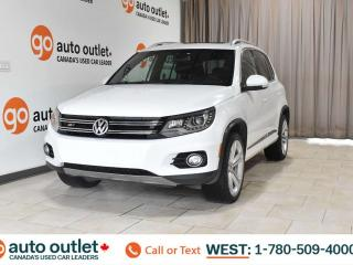 Used 2014 Volkswagen Tiguan Highline, awd, heated front seats, navigation, backup camera, panoramic roof for sale in Edmonton, AB