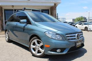 Used 2013 Mercedes-Benz B-Class B250 NAV|CAM|LEATHER|BSPOT for sale in Mississauga, ON