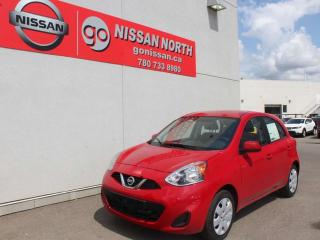 Used 2019 Nissan Micra SV/DEMO SPECIAL/BACKUP CAM/PW/PL/AC for sale in Edmonton, AB